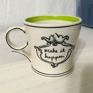Anthropologie Molly Hatch Make it Happen Mug
